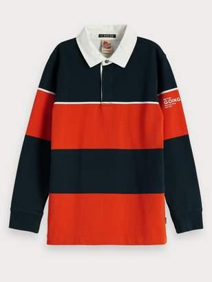 Scotch & Soda Rugby Stripe Polo