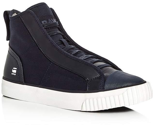 G Star Scuba Denim High Top Sneakers