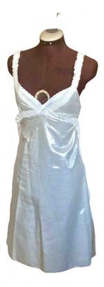 Nina Ricci Silver Cotton Dresses