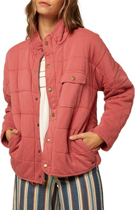 O'Neill Mable Knit Quilted Jacket