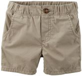 Carter's Boys 4-7 Pull-On Poplin Shorts