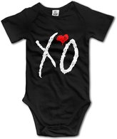 Vogt XO The Weeknd Logo Unisex Baby Onesies