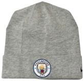 Manchester City FC Grey Manchester City FC Training Beanie