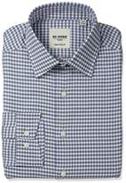 Ben Sherman Men's Slim Fit Check Spread Collar Dress Shirt