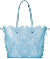 Sophia Webster Blue Liara Butterfly jelly tote bag
