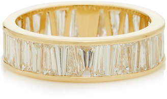 Lizzie Mandler Alternating Tapered Baguette Eternity Band Size: 3