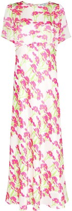 BERNADETTE Jane floral print maxi dress