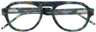 Thom Browne Eyewear Square Frame Glasses