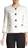 Karl Lagerfeld Paris Short Tweed Jacket