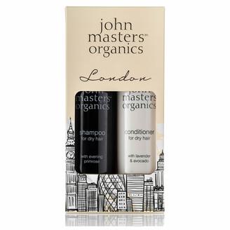 John Masters Organics London Kit for Dry Hair Shampoo and Conditioner 236ml