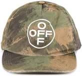Off White Off-White Camouflage Logo Baseball Cap
