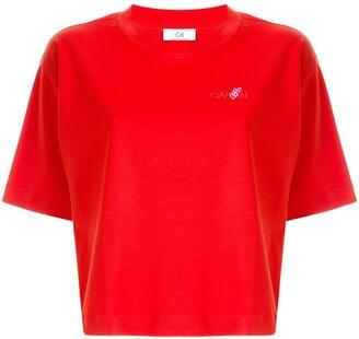 CK Calvin Klein short sleeve boxy fit T-shirt