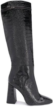 Karl Lagerfeld Paris Metro high-leg boots