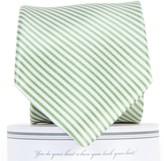 Draper James Collared Greens Signature Series Stripe Necktie