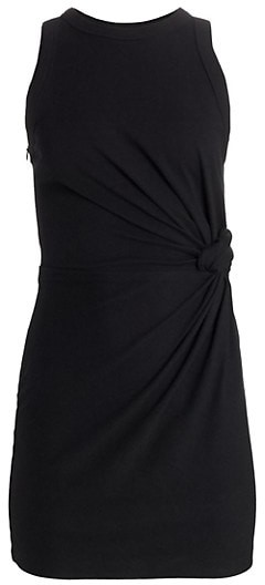 alexanderwang.t Heavy Jersey Twist Detail T-Shirt Dress