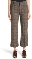 Marc Jacobs Women's Plaid Tweed Crop Pants