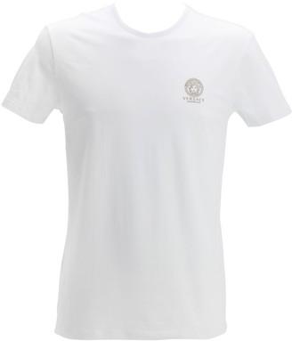 Versace Underwear Printed Stretch Cotton Undershirt