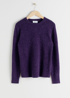 And other stories Wool Blend Knit Sweater