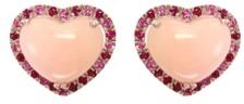 Effy Multi-Gemstone (5 ct.t.w.) Stud Earring in 14K Rose Gold