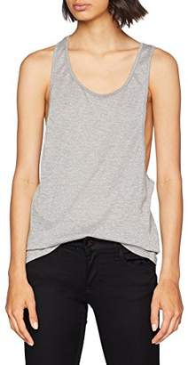 Urban Classic Women's Lurex Loose Sports Tank Top,M