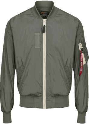 Alpha Industries Ma-1 Sl Vintage Green Bomber Jacket