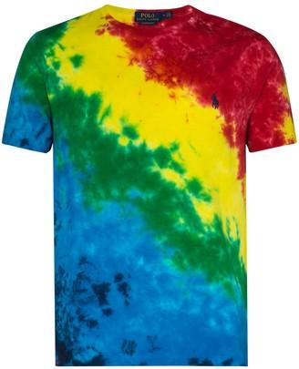 Polo Ralph Lauren tie-dye print T-shirt