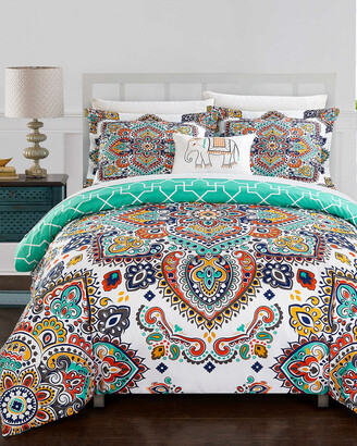 Chic Home Max 8Pc Reversible Comforter Set