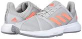 adidas CourtJam Bounce (Footwear White/Core Black/Matte Silver) Women's Shoes