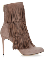 Paul Andrew Taos layered-fringe ankle boots