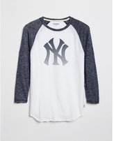 Express new york yankees baseball tee