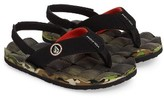 Volcom Toddler Boy's 'Recliner' Flip Flop