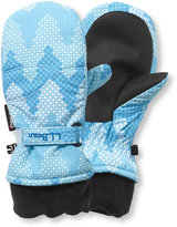 L.L. Bean Kids' Cold Buster Waterproof Mittens