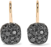 Pomellato Nudo 18-karat Rose Gold Diamond Earrings - one size