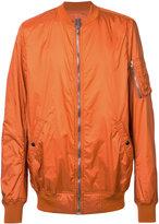 Rick Owens arm patch bomber jacket - men - Polyester - XL