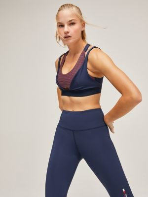 Tommy Hilfiger Reflective Double Layer Low Support Bra