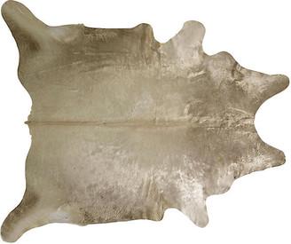 """Saddlemans Natural Hide - Champagne 6'x7'6"""""""