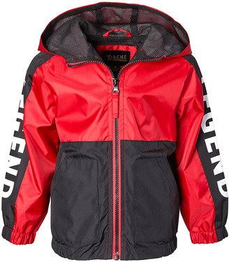 iXtreme Boys' Windbreakers and Shell Jackets RED - Red Ripstop Color Block Mesh-Lined Jacket - Boys
