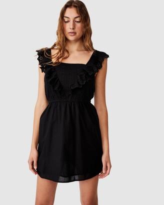 Cotton On Woven Debby Ruffle Mini Dress