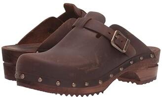 Sanita Kristel (Antique Brown) Women's Clog Shoes