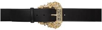 Versace Black Vintage Buckle Belt