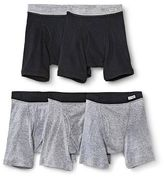 Fruit of the Loom Boys' 5-pack Boxer Briefs - Black and Gray