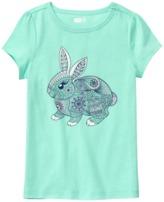 Crazy 8 Sparkle Bunny Tee