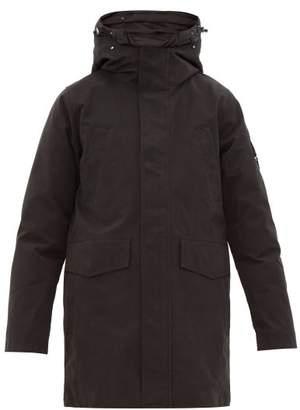 49 Winters - Layered Cotton-blend Gabardine Parka - Mens - Black