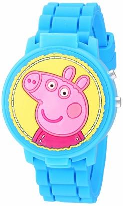 Peppa Pig Girls' Quartz Watch with Plastic Strap