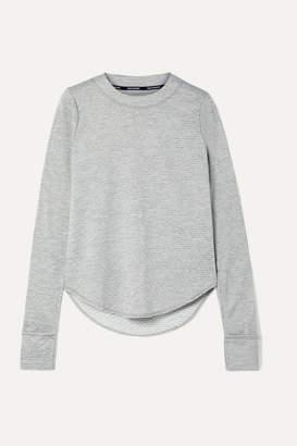 Nike Sphere Element Striped Dri-fit Top - Gray