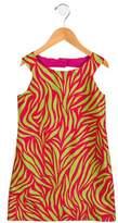 Florence Eiseman Girls' Shift Abstract Dress