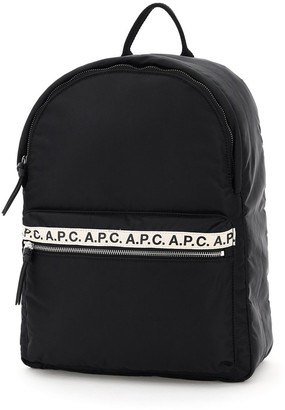 A.P.C. Repeat Logo Backpack