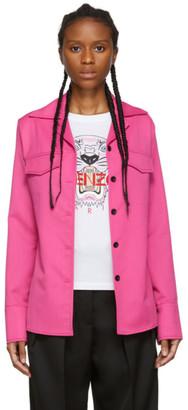 Kenzo Pink Wool Jacket