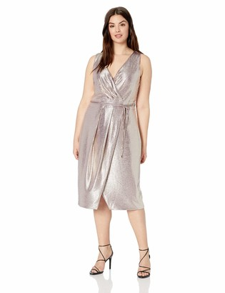 Rachel Roy Women's Plus Size Brigette Foil Dress