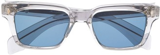 Jacques Marie Mage Clear Frame Sunglasses